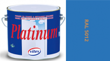 Vitex Platinum satén RAL 5012 0,75L